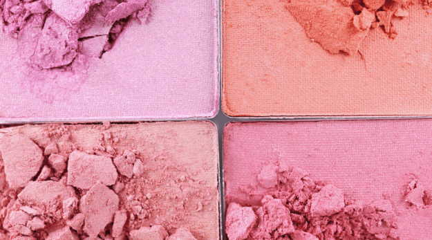 broken makeup powder